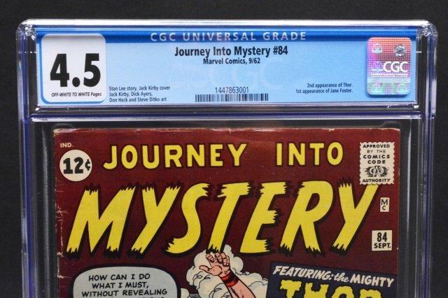 Journey Into Mystery #84 (MC, 1962) CGC 4.5 - 3