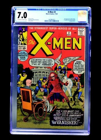 X-Men #2 (Marvel Comics, 1963) CGC 7.0