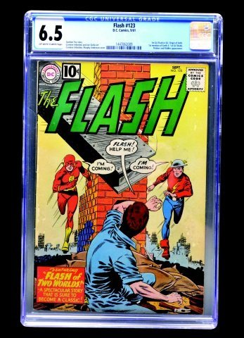 Flash #123 (D.C. Comics, 1961) CGC 6.5