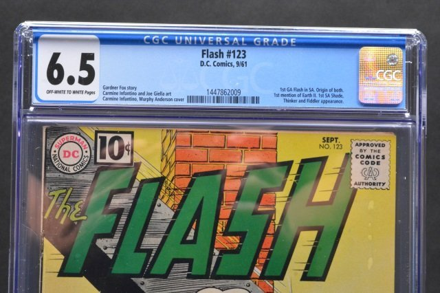 Flash #123 (D.C. Comics, 1961) CGC 6.5 - 3