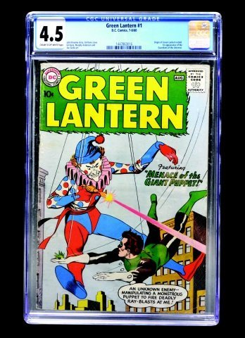 Green Lantern #1 (D.C. Comics, 1960) CGC 4.5