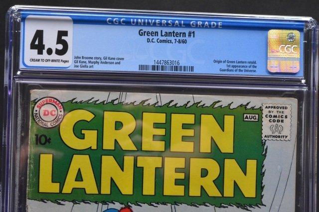 Green Lantern #1 (D.C. Comics, 1960) CGC 4.5 - 3