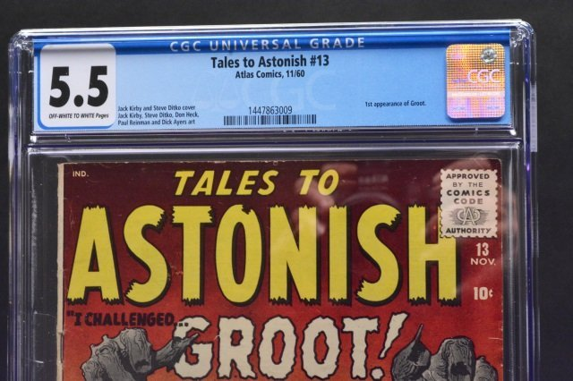 Tales To Astonish #13 (Atlas Comics, 1960) CGC 5.5 - 3