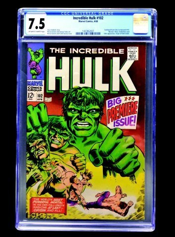 Incredible Hulk #102 (Marvel Comics, 1968) CGC 7.5