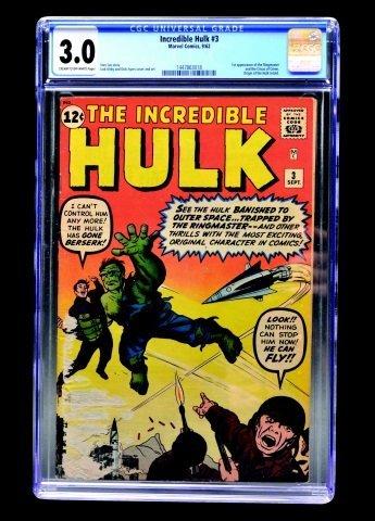 Incredible Hulk #3 (Marvel Comics, 1962) CGC 3.0