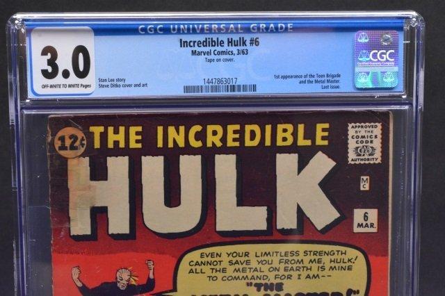 Incredible Hulk #3 (Marvel Comics, 1962) CGC 3.0 - 3