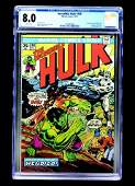 Incredible Hulk #180 (Marvel Comics, 1974) CGC 8.0