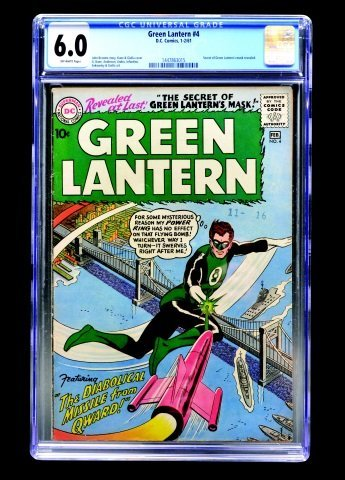 Green Lantern #4 (D.C. Comics, 1961) CGC 6.0
