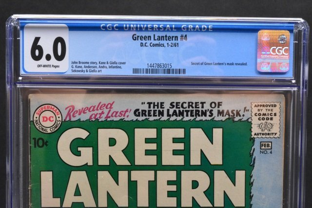 Green Lantern #4 (D.C. Comics, 1961) CGC 6.0 - 3