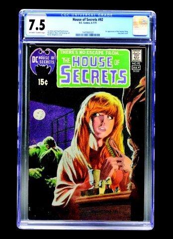House of Secrets #92 (D.C. Comics, 1971) CGC 7.5