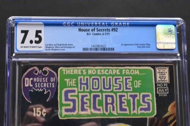House of Secrets #92 (D.C. Comics, 1971) CGC 7.5 - 3