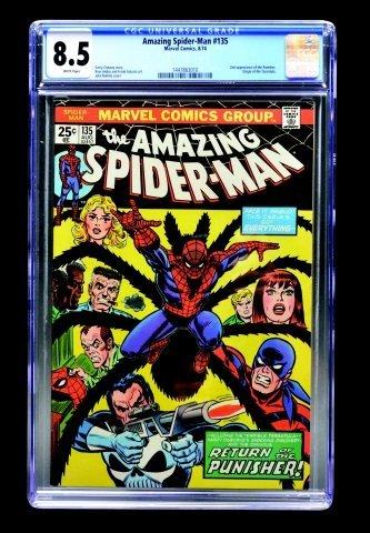 Amazing Spider-Man #135 (MC, 1974) CGC 8.5