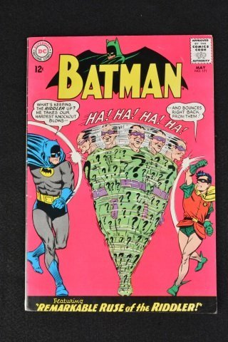 Batman No. 171, Vol. 1 DC Comics Riddler