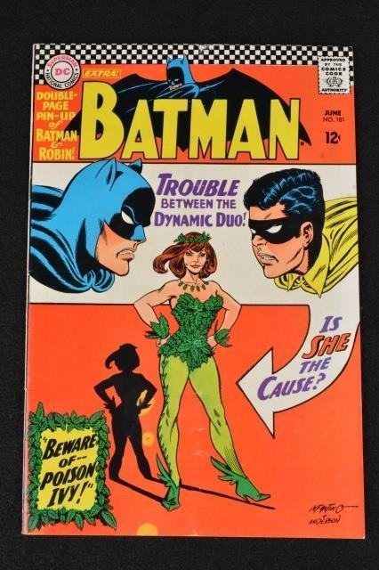 Batman No. 181 DC Comics 1st Appearance Poison Ivy