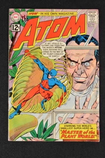 The Atom No. 1 DC Comics Plant Master Silver Age
