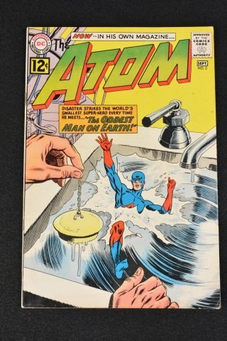 The Atom No. 2 DC Comics Silver Age