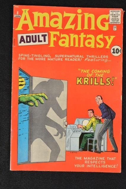 Amazing Adult Fantasy (Atlas) No. 8 Marvel Comics