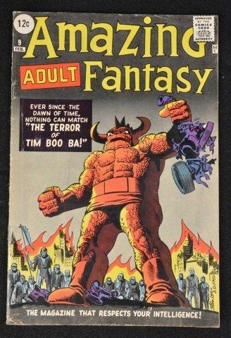 Amazing Adult Fantasy (Atlas) No. 9, Marvel Comics