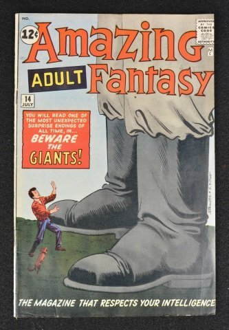 Amazing Adult Fantasy (Atlas) No.14 Marvel Comics