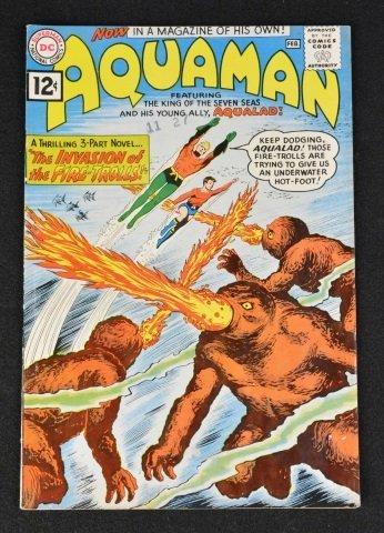 Aquaman No. 1, DC Comics 1st Quisp