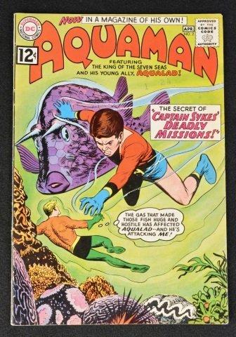 Aquaman No. 2 DC Comics Silver Age