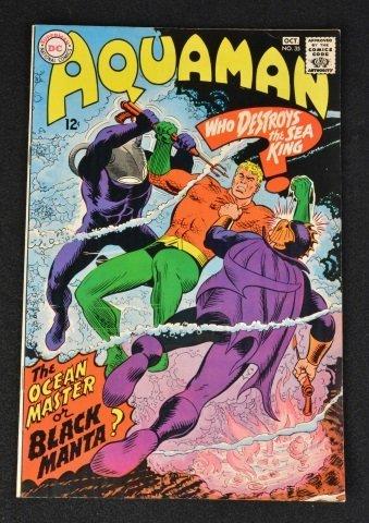 Aquaman No. 35 DC Comics 1st Black Manta