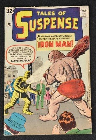 Tales Of Suspense No.40 Marvel Comics Gold Armor