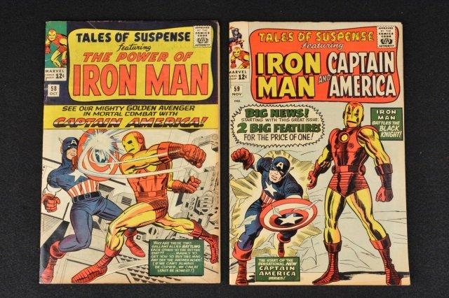 (2) Tales of Suspense Issues 58 & 59 Marvel Comics