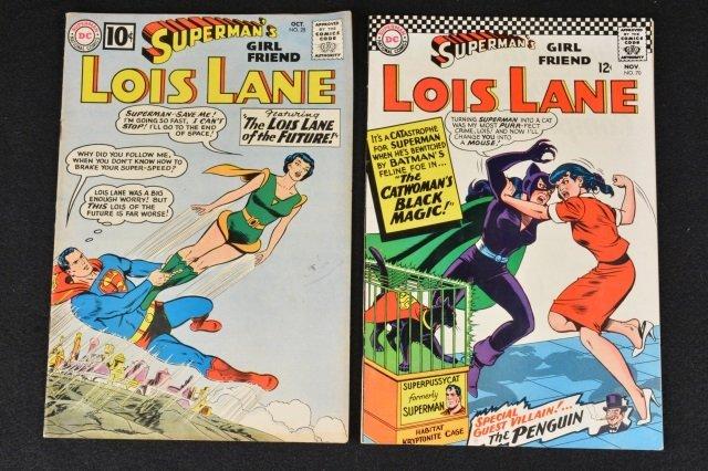 Supermans' Girlfriend Lois Lane 28 & 70 DC Comics