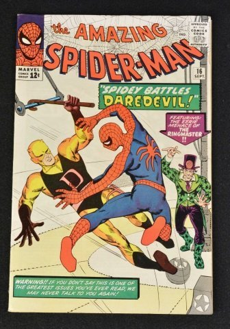 Amazing Spider-Man No. 16 Marvel Comics Silver Age