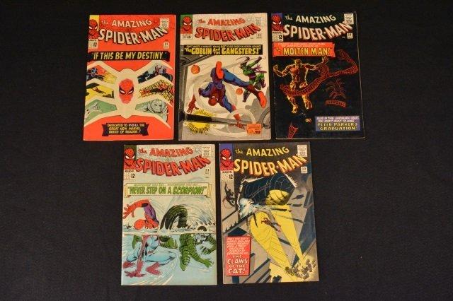 (5) Amazing Spider-Man No.23, 28- 31 Marvel Comics