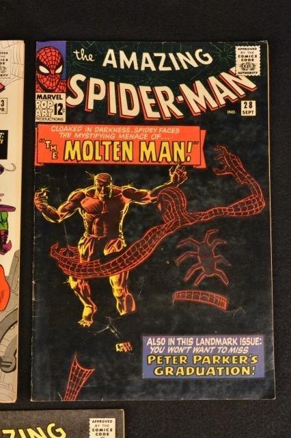 (5) Amazing Spider-Man No.23, 28- 31 Marvel Comics - 3