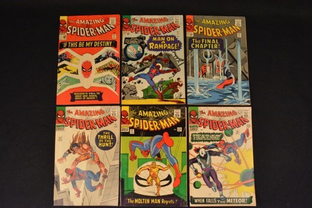 (6) Amazing Spider-Man No. 31-36 Marvel Comics