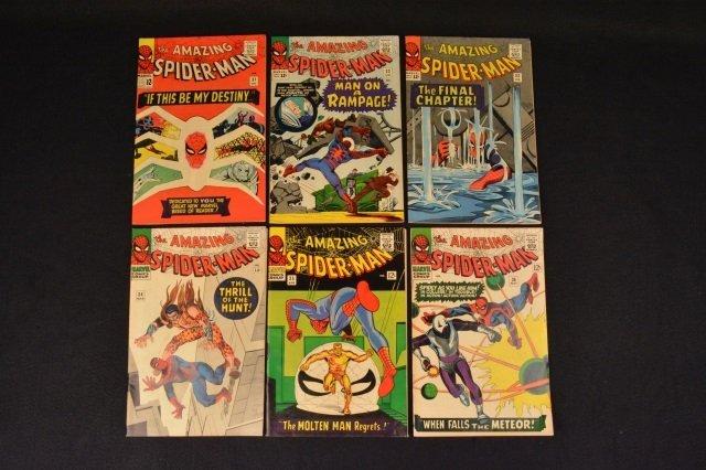(6) Amazing Spider-Man No. 31-36 Marvel Comics - 2