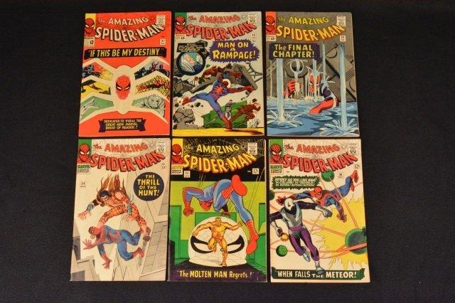 (6) Amazing Spider-Man No. 31-36 Marvel Comics - 3