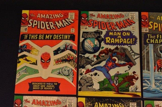 (6) Amazing Spider-Man No. 31-36 Marvel Comics - 4