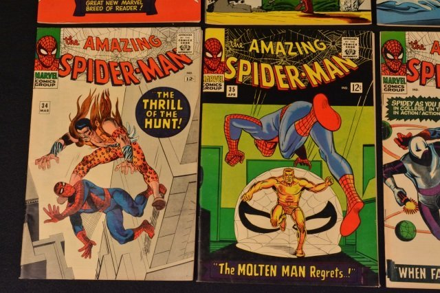 (6) Amazing Spider-Man No. 31-36 Marvel Comics - 5