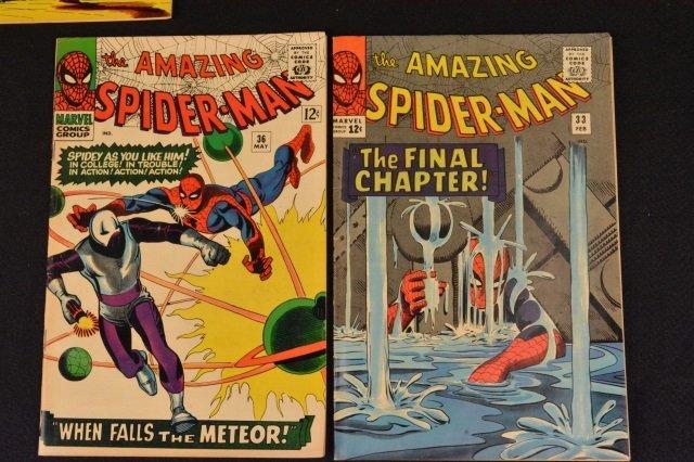 (6) Amazing Spider-Man No. 31-36 Marvel Comics - 6