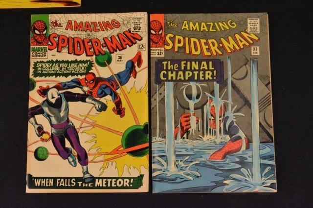 (6) Amazing Spider-Man No. 31-36 Marvel Comics - 7