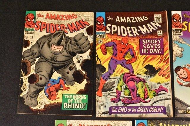 (5) Amazing Spider-Man No. 37-41 Marvel Comics - 2