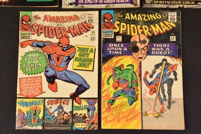(5) Amazing Spider-Man No. 37-41 Marvel Comics - 3