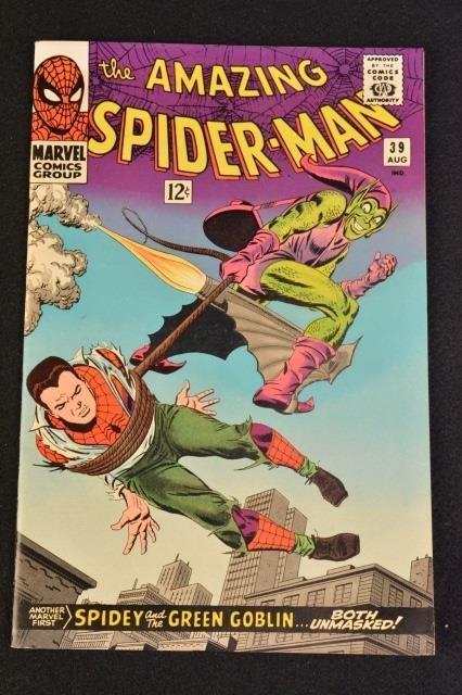 (5) Amazing Spider-Man No. 37-41 Marvel Comics - 4