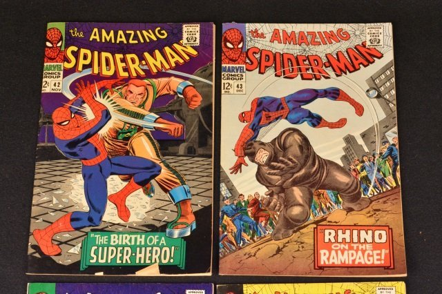 (4) Amazing Spider-Man No. 42-45 Marvel Comics - 2