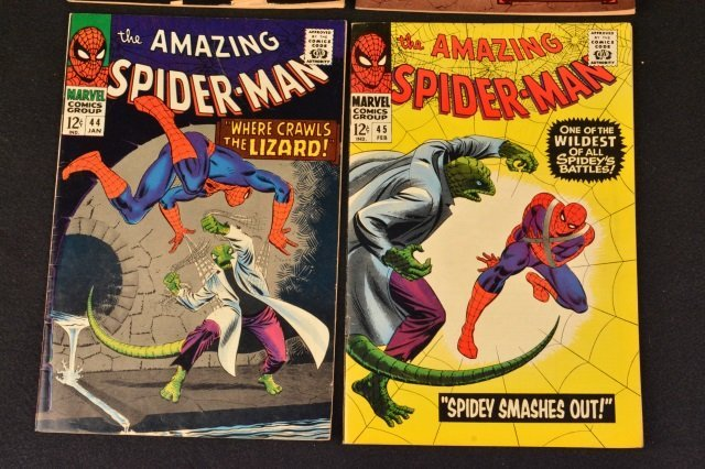 (4) Amazing Spider-Man No. 42-45 Marvel Comics - 3
