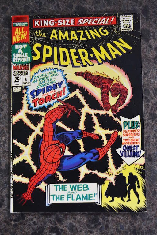 (4) Amazing Spider-Man No. 42-45 Marvel Comics - 5