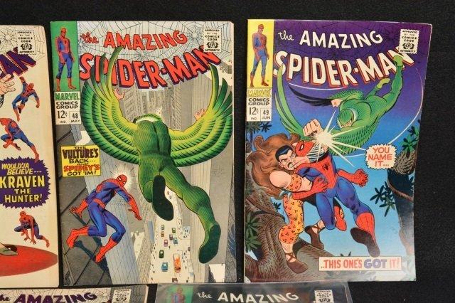 (7) Amazing Spider-Man Marvel Comics Silver Age - 3