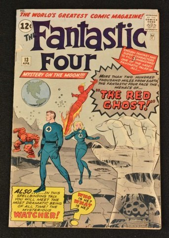 Fantastic Four No. 13 Marvel Comics Silver Age