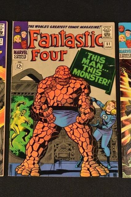 (3) Fantastic Four Marvel Comics Silver Age - 3