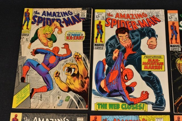 (6) Amazing Spider-Man Marvel Comics Silver Age - 2