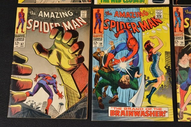 (6) Amazing Spider-Man Marvel Comics Silver Age - 3